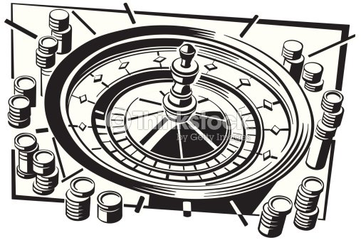 roulette wheel with gambling chips layered also available in color 026c9807 games of chance dont. Black Bedroom Furniture Sets. Home Design Ideas