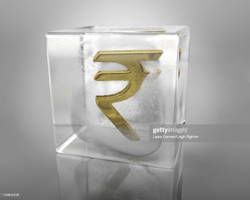 A rupee symbol frozen in an ice cube stock illustration getty images a rupee symbol frozen in an ice cube stock illustration biocorpaavc