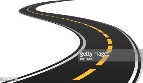 S Curve Road Vector Art | Getty Images