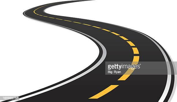 Curva a s road