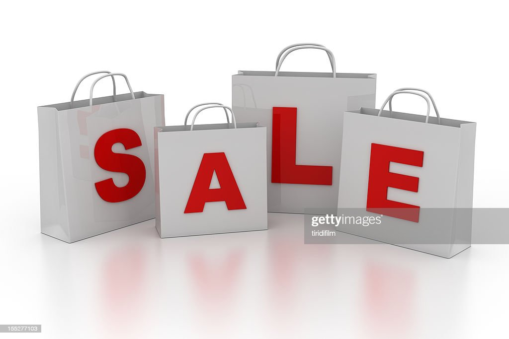 Sale Shopping Bag Series : Stock Illustration