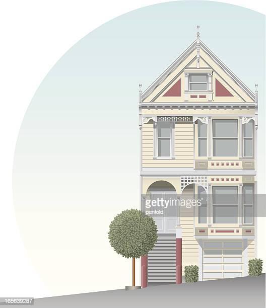 Maison victorienne de San Francisco