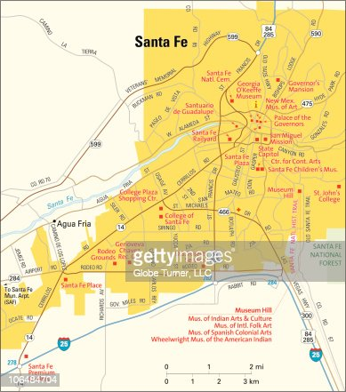 Santa Fe Stock Illustrations And Cartoons  Getty Images