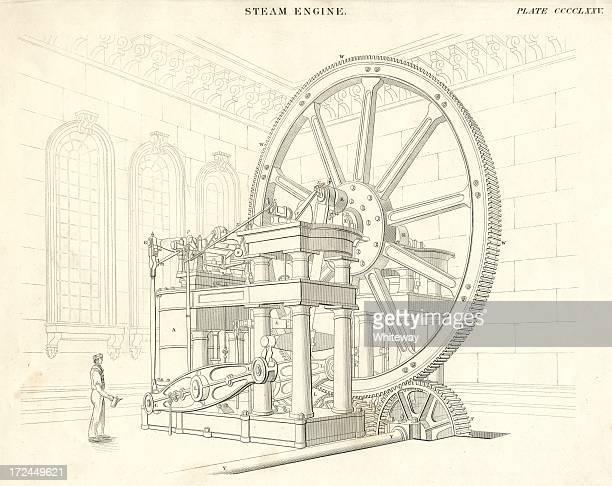 Ciencia bicicletas steam engine siglo XIX 1842