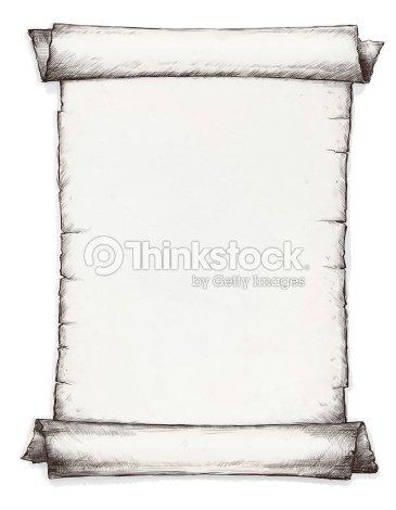 Scroll Frame Graphic Arts Stock Illustration | Thinkstock