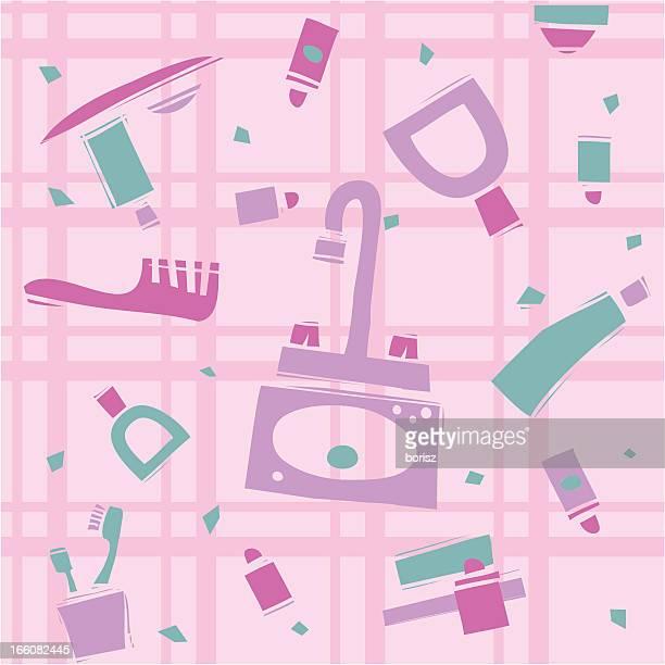 Messy Bathroom: Messy Bathroom Cartoon Stock Illustrations And Cartoons