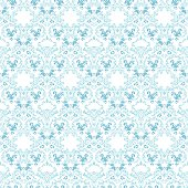 Seamless damask wallpaper pattern
