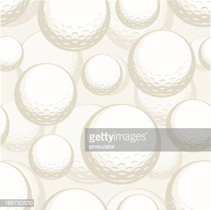 seamless golf ball pattern vector art getty images