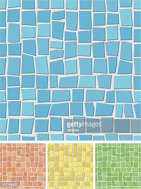 Seamless mosaic pattern.