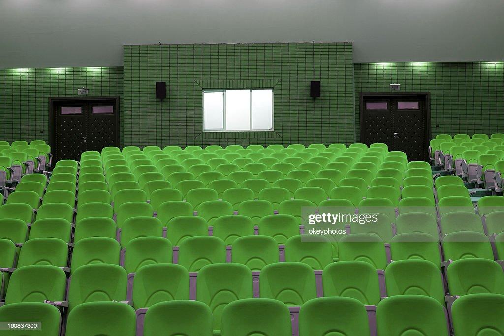 seats in an auditorium. : ストックイラストレーション