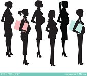 Selection of pregnant women