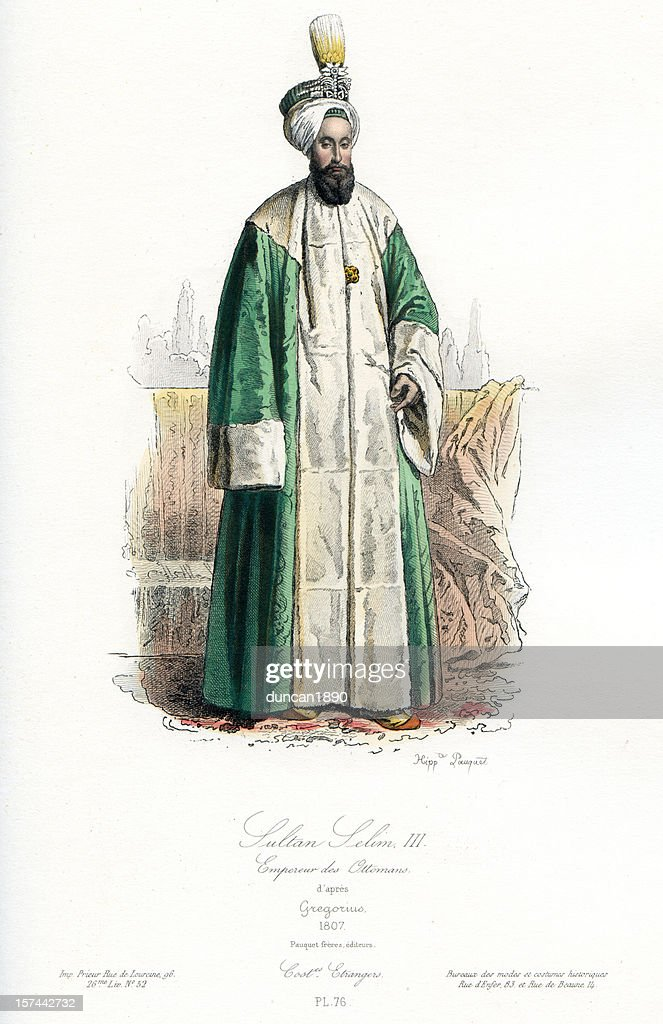 selim iii sultan of the ottoman empire stock illustration getty images