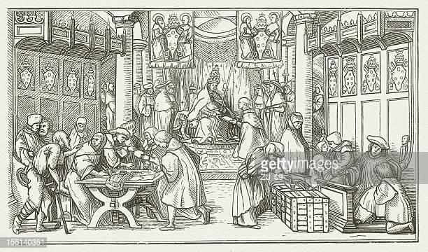 Vendita di piaceri-di Hans Holbein
