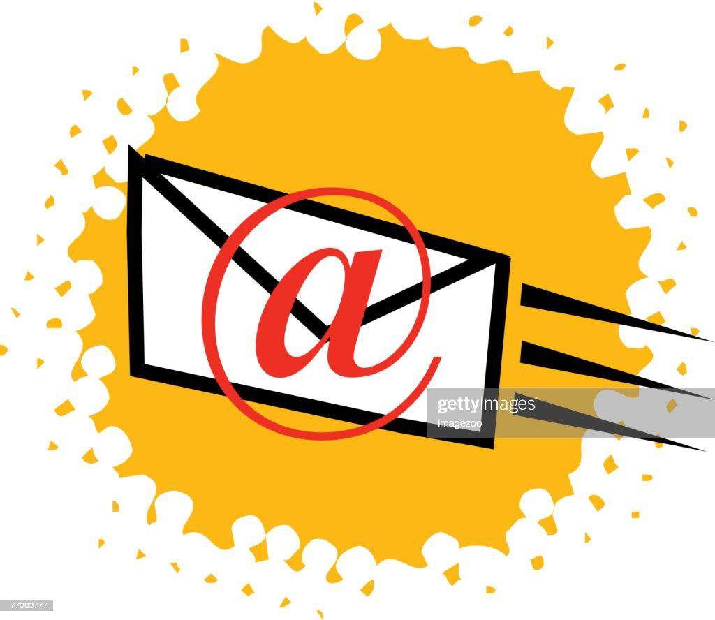 sending email : Vector Art
