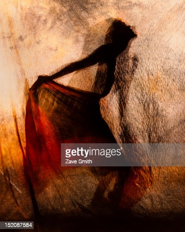 Shadow Dancing : Stock Illustration