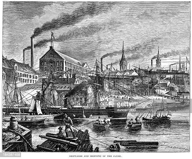Shipyards and shipping of the Clyde