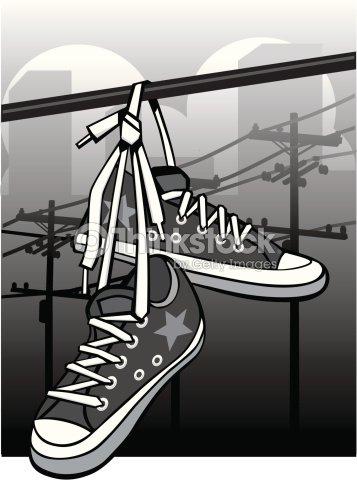 Fer Un Sur Vectoriel Clipart Thinkstock De Chaussures Fil Ag1WHwwq