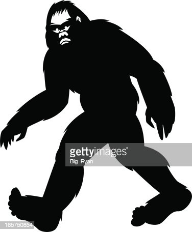 Simple Bigfoot Vector Art | Getty Images