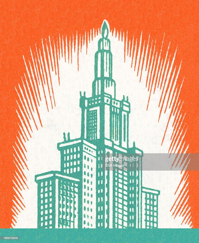 Skyscraper : Stock Illustration