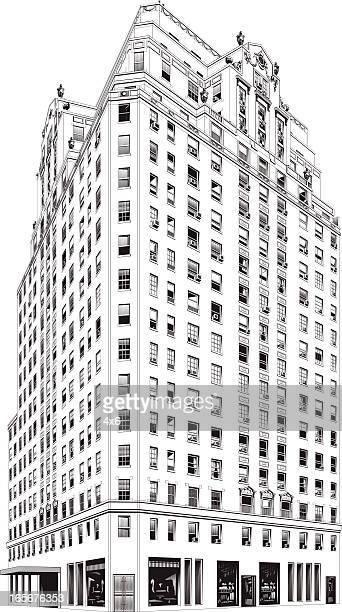 Skyscraper in a city