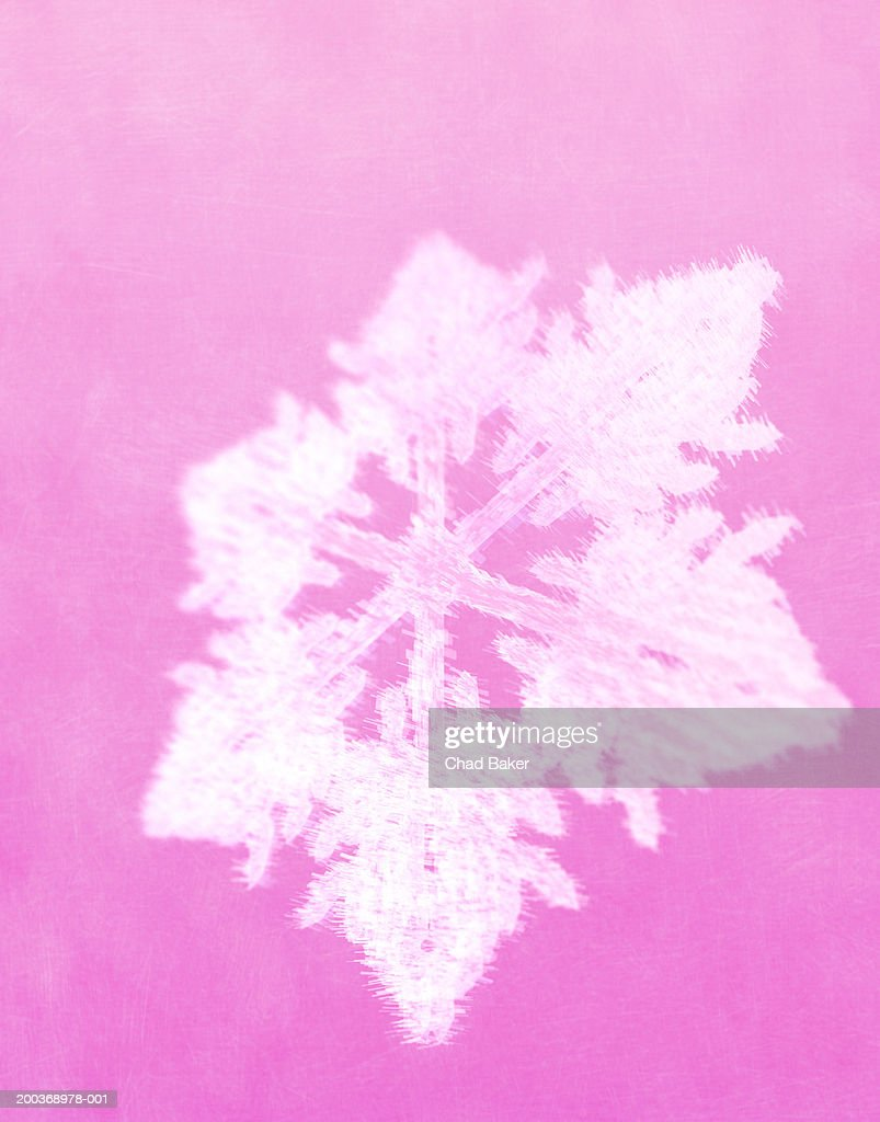 Snowflake (Digital) : Stock Illustration