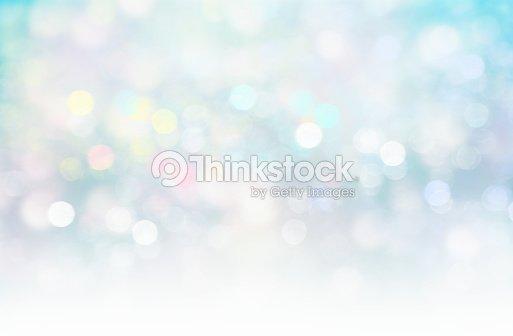 Soft blurred lights glitter blue xmas fairy background. : stock illustration