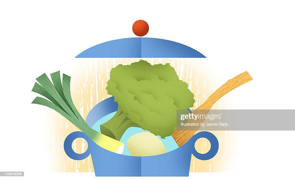 Soup : Stock Illustration