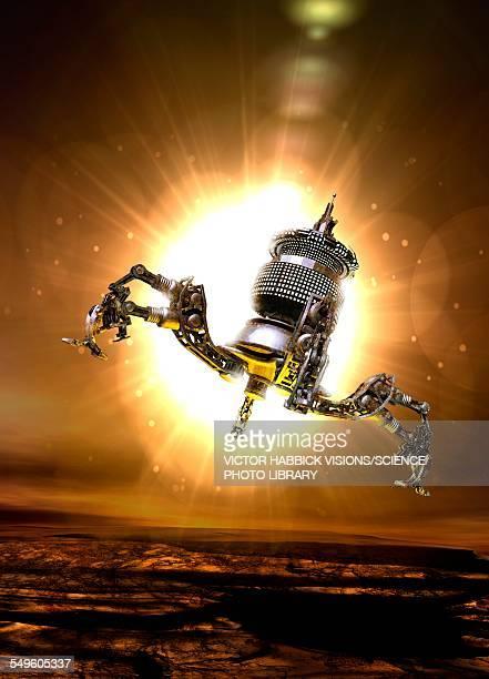 spacecraft landing on asteroid - photo #28