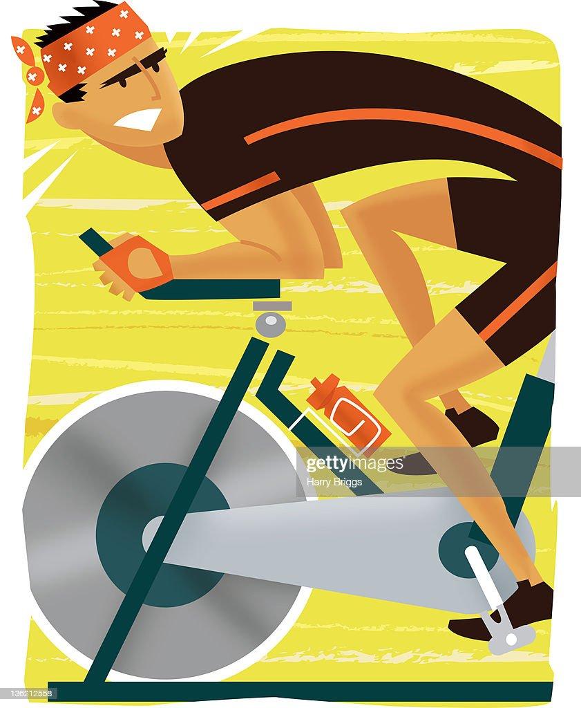 Spinning : Stock Illustration