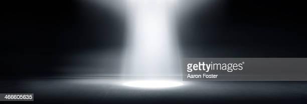 Spotlight studio background