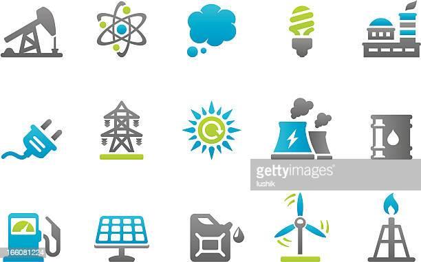 Stampico iconos de energía