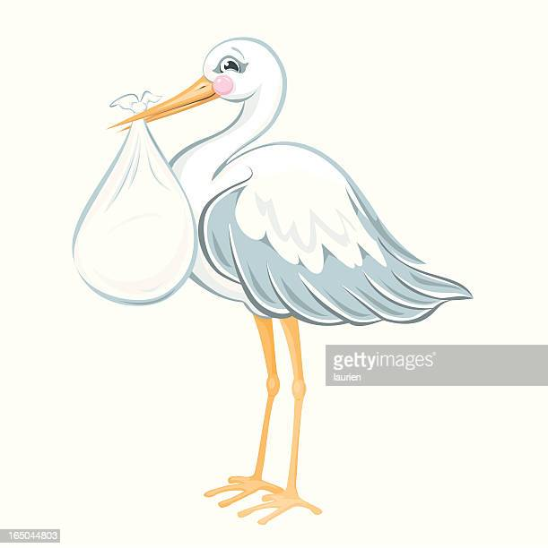 stork stock illustrations and cartoons getty images