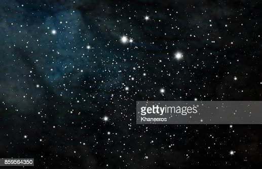 Stars and galaxy space sky night background : Stock Illustration