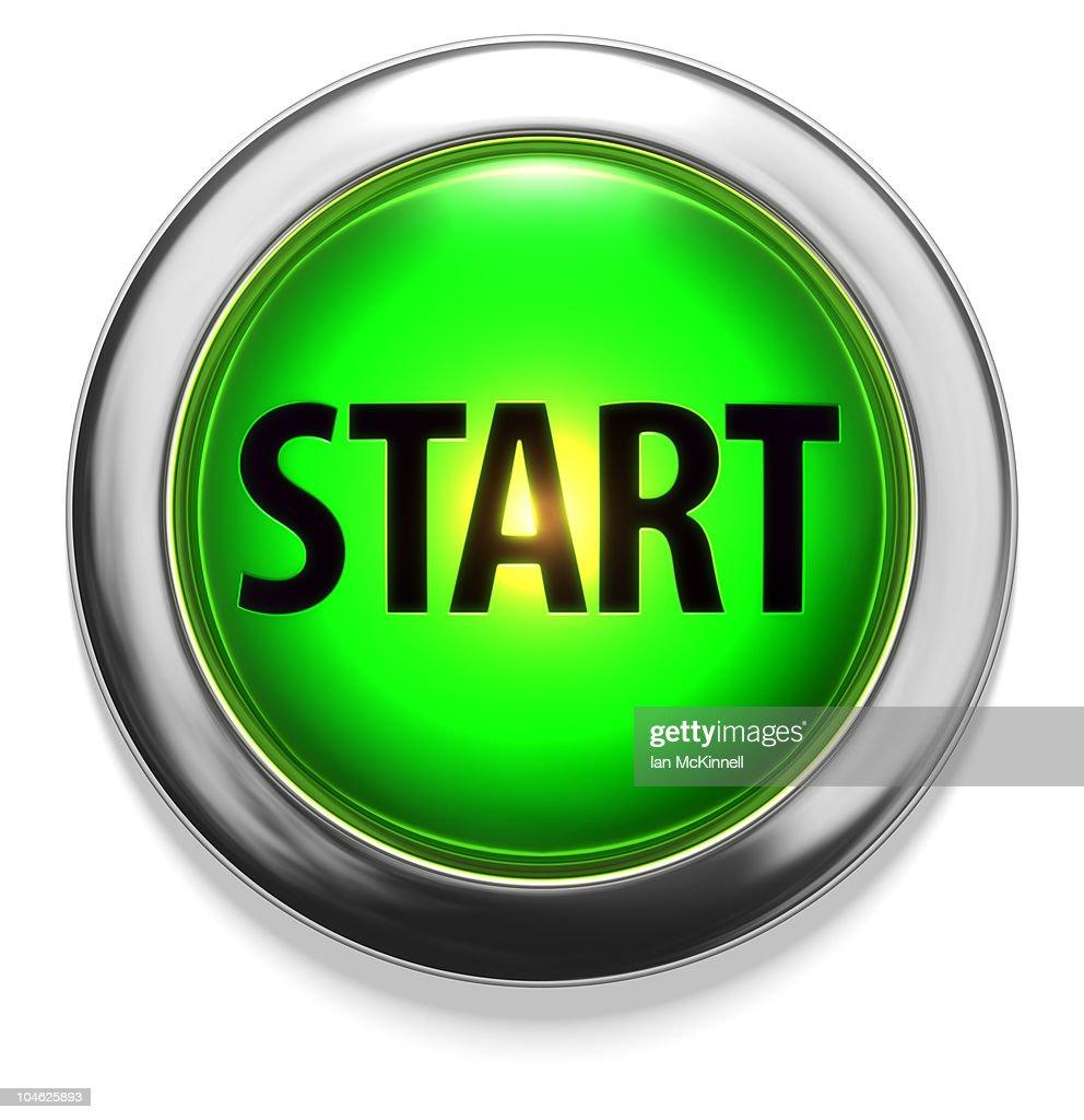 Start Button Stock Ill...