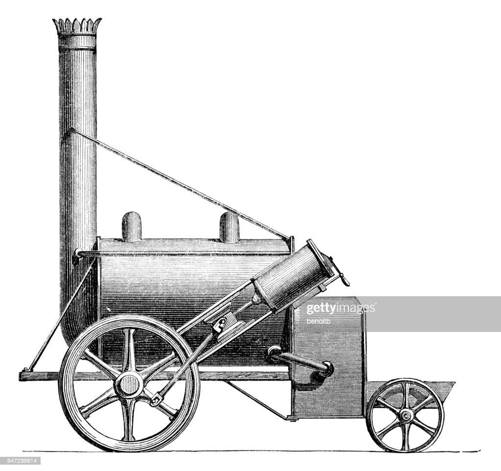 Steam Locomotive Stock Illustration | Getty Images