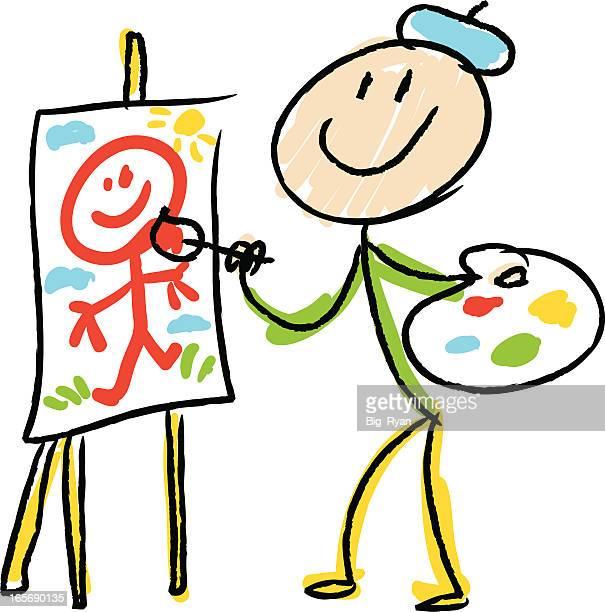 stick figure artist