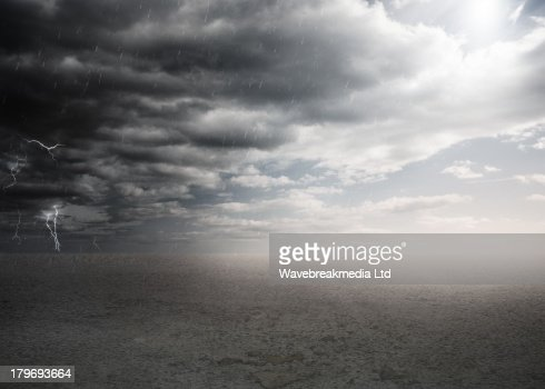 Stormy weather : Stock Illustration