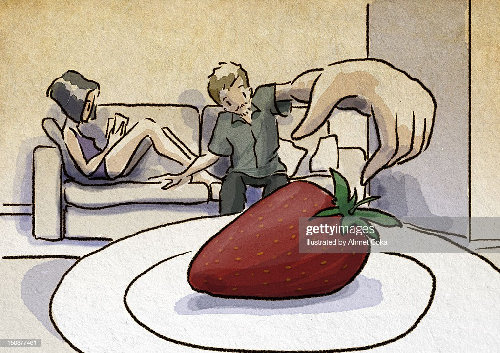 Strawberry : Stock Illustration