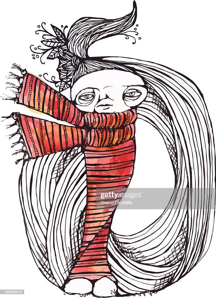 Stripey : Stock Illustration