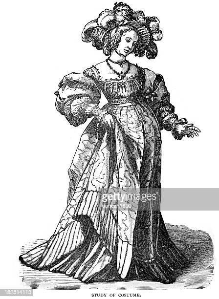 Study of 16th Century Costume