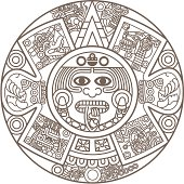 Calendario Maya Fotos E Ilustraciones De Stock Imágenes Libres De
