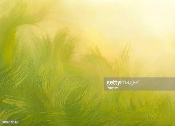 Ensoleillé fond abstrait de printemps
