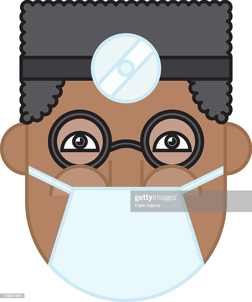 A surgeon : Stock Illustration