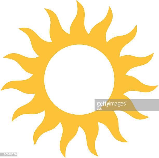 Swirling sun