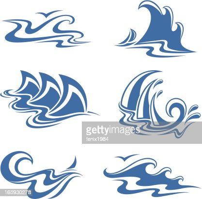 Symbol Waves Vector Art Getty Images