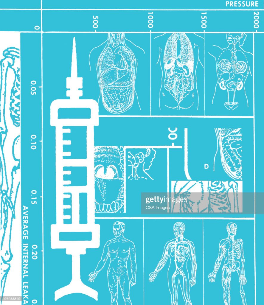 Syringe : Stock Illustration