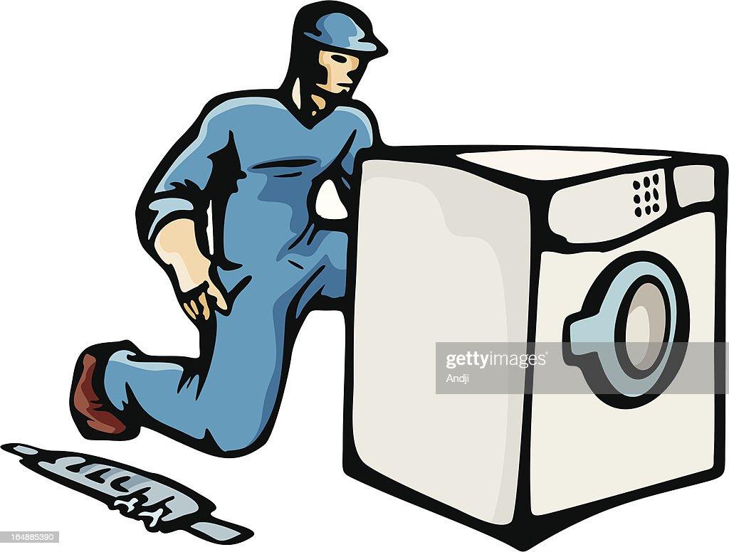 washing machine technician