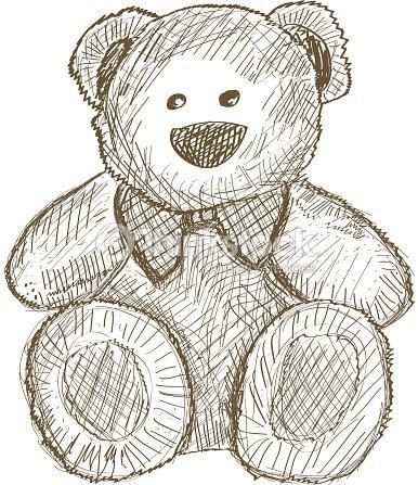Ours en peluche clipart vectoriel thinkstock - Dessin ours en peluche ...