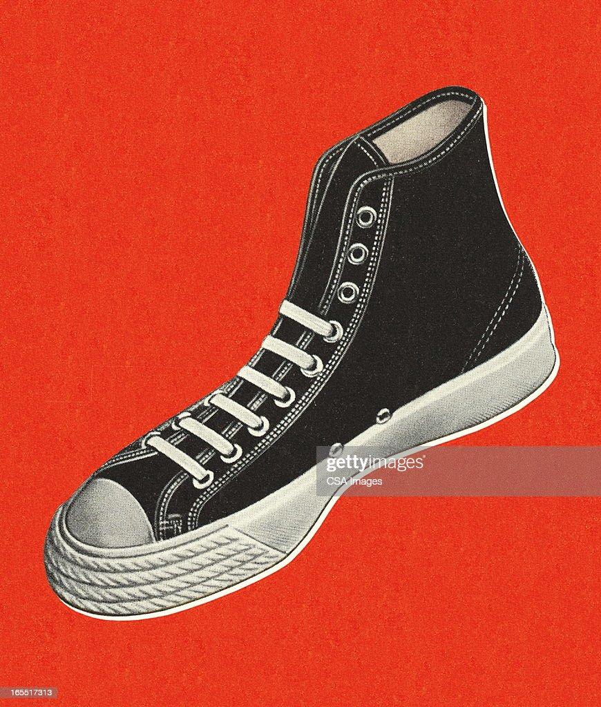 Tennis Shoe : Stock Illustration