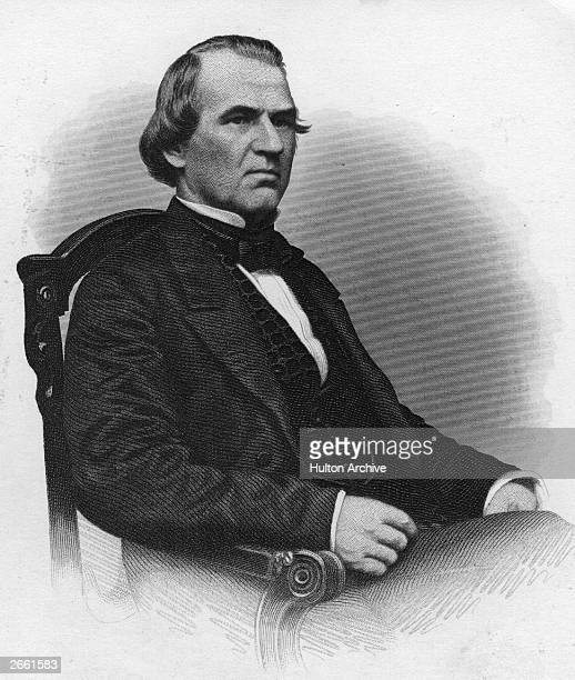 The 17th President of the United States of America Andrew Johnson Johnson was vicepresident to Abraham Lincoln and became President upon his...
